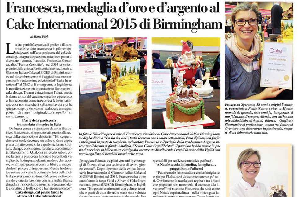 """CAKE INTERNATIONAL BIRMINGHAM"" TIBURNO"